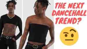 Jamaican Men Dressing Like This? ASOS Launches Men Crop Top And Blouse