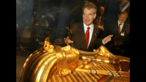Ancient Egyptian Artifacts from King Tut Tomb Shown for First Time
