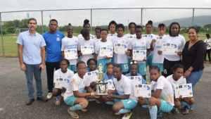 Lacovia Female Football Champions