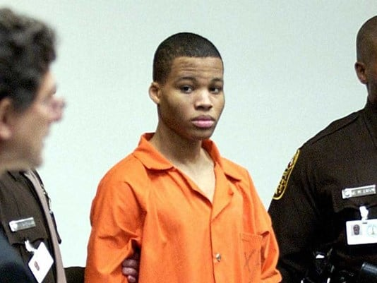 Lee Boyd Malvo's Life Sentences Tossed