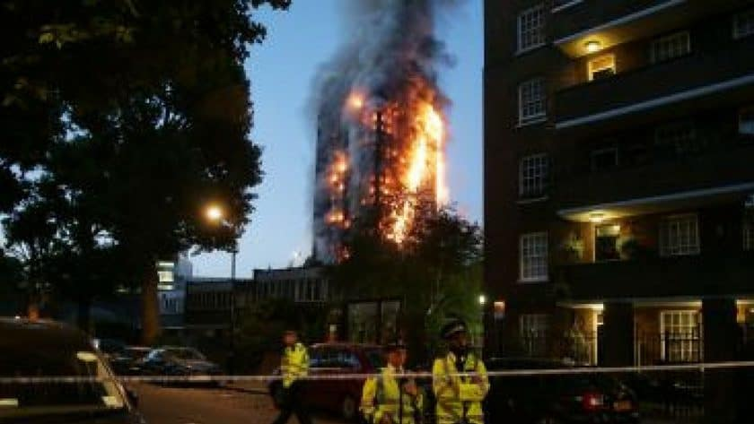 Grenfell Tower Engulfed Killing Six People