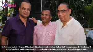 Danny Galani, Mr. Sevala Naik and Lachu Ramchandani