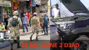 MONTEGO BAY UNDER HIGH TENSION AFTER MASS ROBBERY LEAVING 2 DEAD