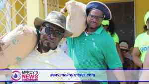MP Heroy Clarke Demonstrated Total Involvement in Labour Day Projects