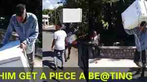 Must Watch: Man Caught Robbing Church in Jamaica | Gets Serious Beating From Residents