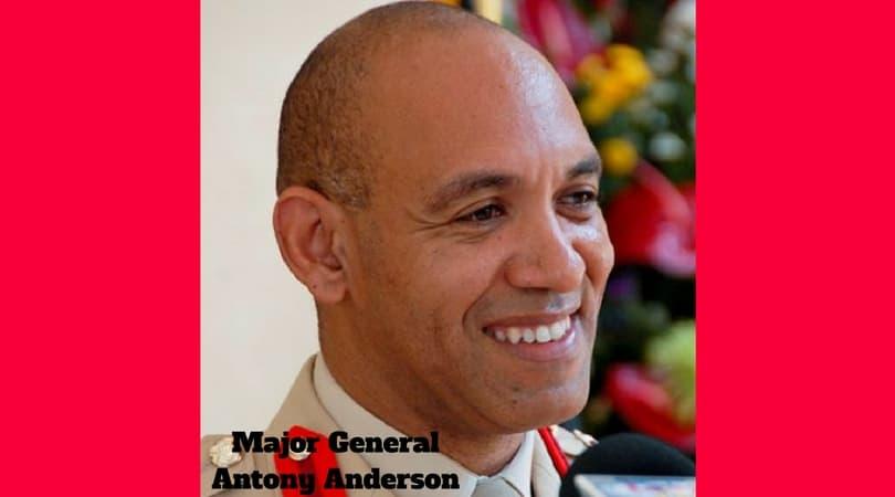 Major General Antony Anderson