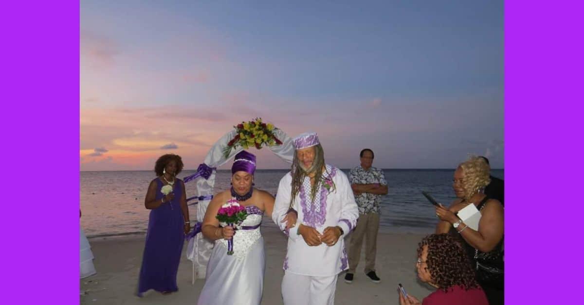 Ras Astor Black Weds in Montego Bay