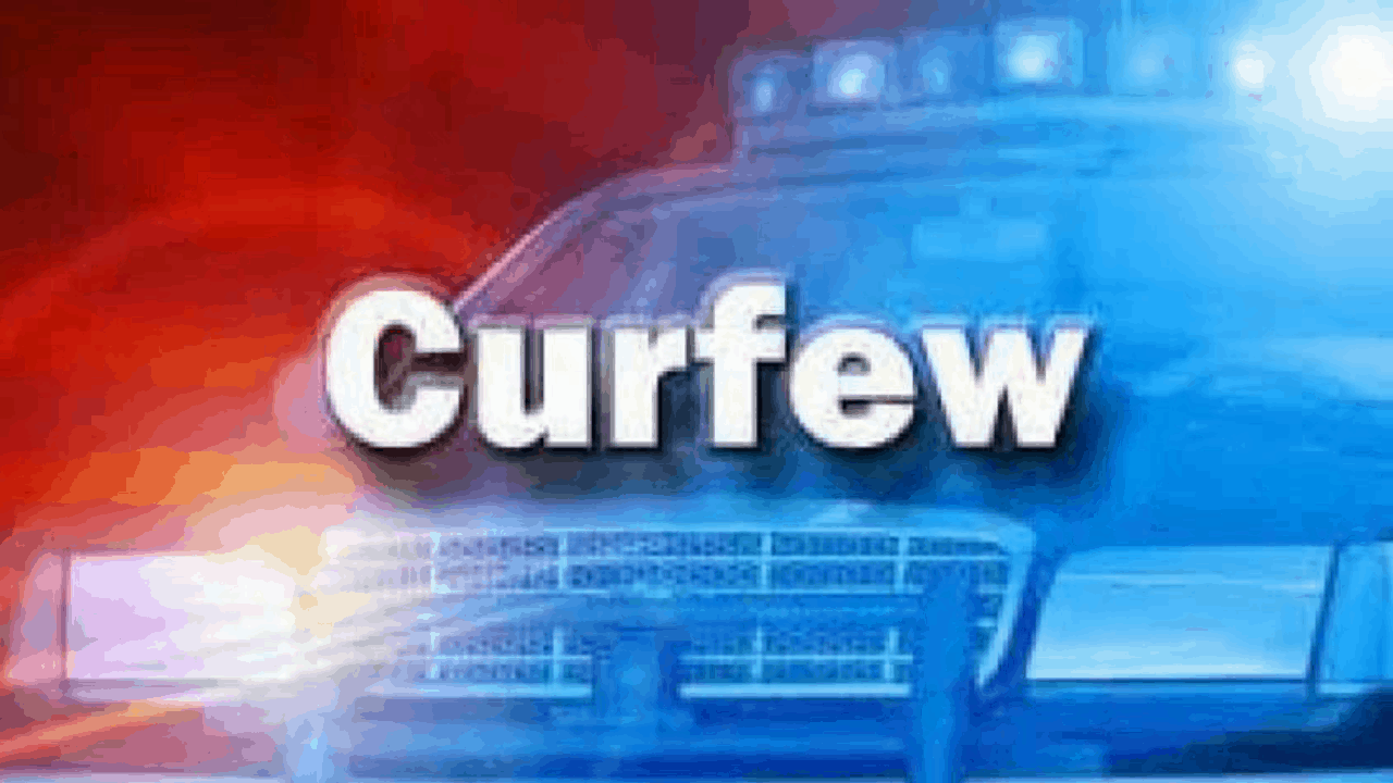 CURFEW IMPOSED IN GREGORY PARK, ST. CATHERINE