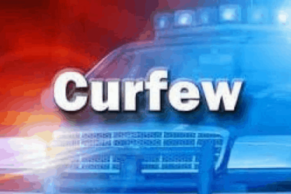 Curfew Imposed in August Town, St. Andrew Central