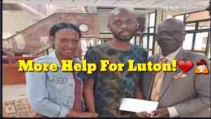 Member of Parliament for West Kingston, Desmond McKenzie has donated $500,000 to Luton Shelton