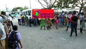 Schoolers Brawl at Montego Bay Transport Centre