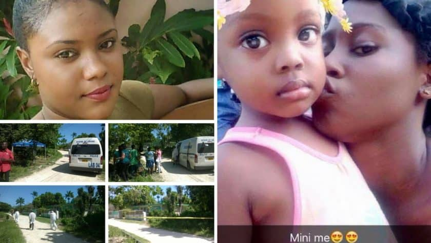 Mother Buried in Tomb, Negril Woman and Daughter Buried in Tomb, Nadian Dyer