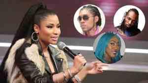 Nicki Minaj Big Up Vybz Kartel, Beenie + more | Says Dancehall Under Appreciated