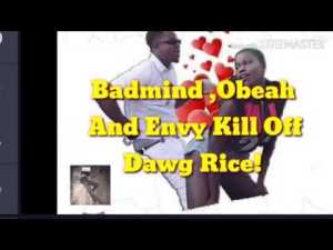 Obeah ,Badmind And Envy Kill Off Dog Rice