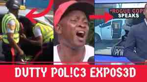 Video: Police Exposes on Camera, Beating Taxi Man
