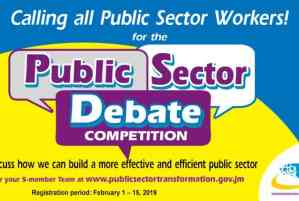 Public Sector Employees Invited to Participate in Debate Competition