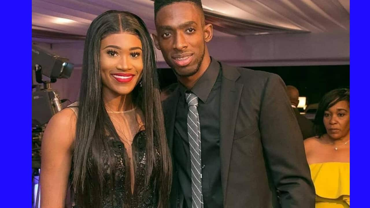Page 3: Jamaican athletes Kemar Bailey-Cole And Ristananna Tracey are officially engaged