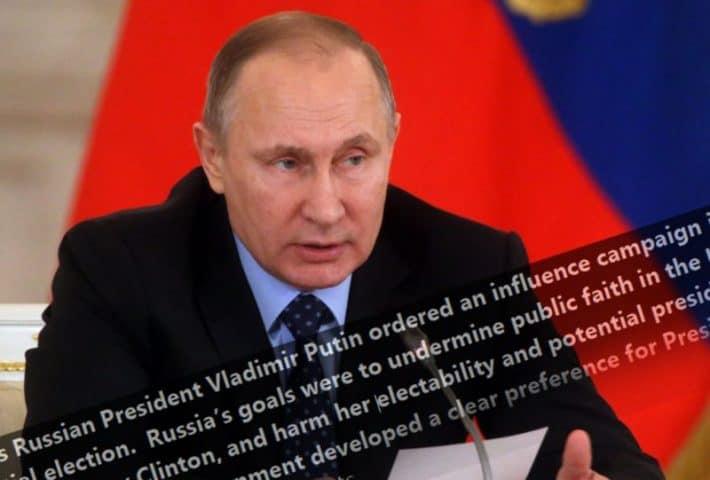 Russian President Vladimir Putin speaks in Moscow on Dec. 26. (Photo: Mikhail Svetlov/Getty Images)