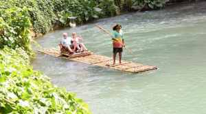 Rafting on the Martha Brae River, Jamaica