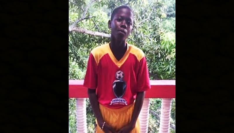 Romain Brown, 13, from St Andrew Missing