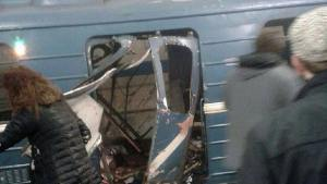 Video: Russia deadly blast -metro bomb kills 11, wounds dozens