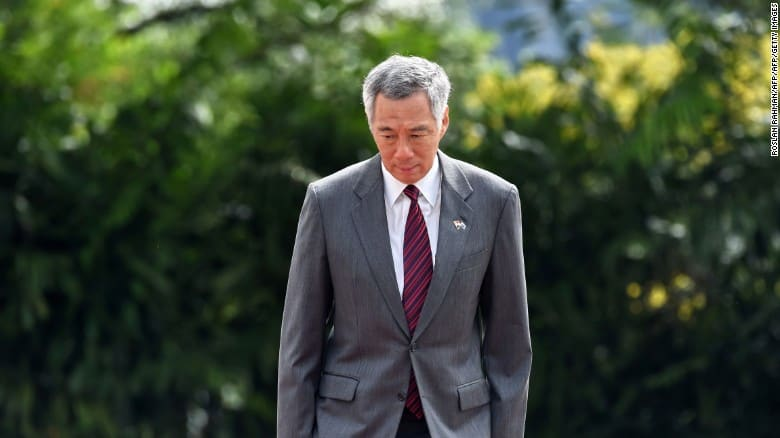 Prime Minister Lee Hsien Loong publicly denounced