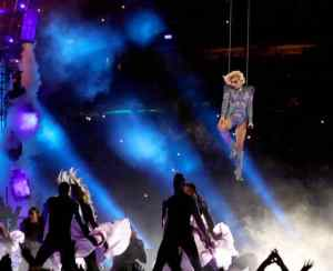 Lady Gaga at the Super Bowl: No Controversy, Lots of Glitter