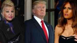 Melania Trump Hits Back At Ivana 'First Lady' Jibe