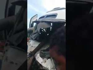 Tragedy!…Crash earlier today in Jamaica!
