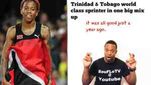 Trinidad and Tobago Sprinter what a piece a story