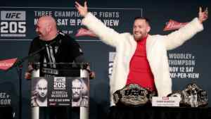 Conor McGregor is Positive he Beats Floyd Mayweather