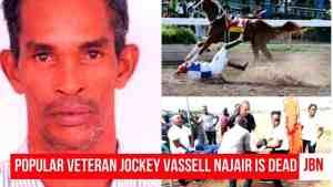 Veteran Jockey Vassell Najair Is Dead