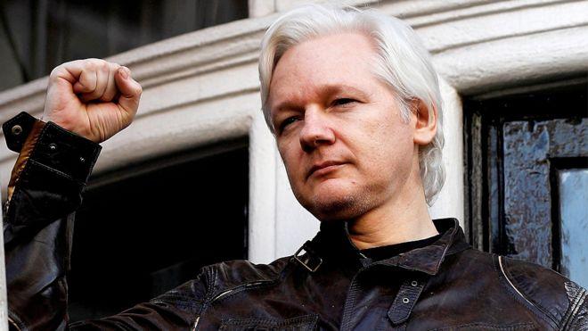 WikiLeaks Founder Julian Assange Arrested at Ecuador Embassy in London