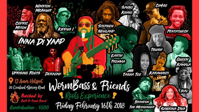 Wormbass Hosts Major Roots Concert