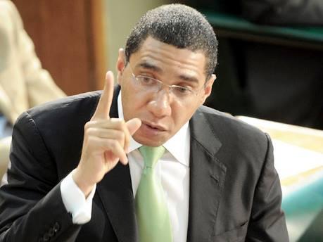 Jamaican Public Rates Prime Minster