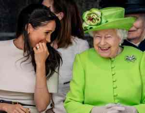 Meghan Markle and Queen Elizabeth are the internet's new royal power couple