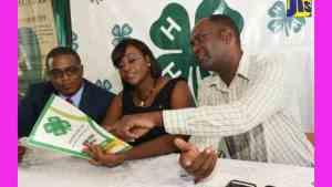 Juliet Holness Lauds Work of Jamaica 4-H Clubs