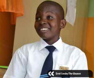 12-year-old head boy shines bright like a diamond