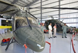 Gov't acquires surveillance plane, 2 helicopters to secure border