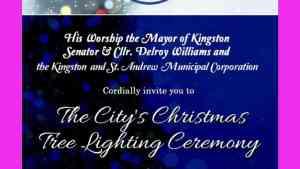 KSMAC Christmas Tree-Lighting Ceremony on Dec. 20