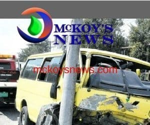 12 Injured in Spanish Town Minibus Accident