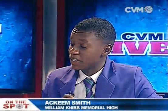 Jamaican Youth Ackeem Smith