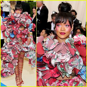 Rihanna dress was a high fashion knockout