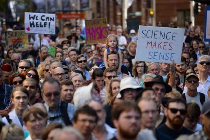 scientist protest
