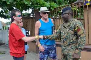 Tourist Comfortable with State of Emergency in Jamaica