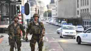 Troops Shoot Man After Brussels Station Blast