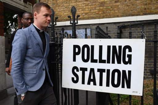 UK Polling Stations Open