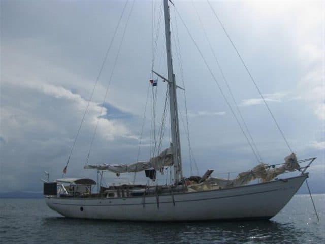 Body of German Man on Yacht