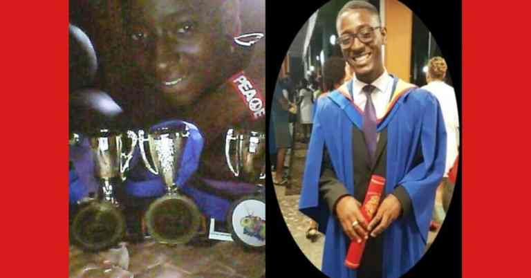 Young man dies in crash days after graduating with first class honours; he was shortlisted for Rhodes Scholarship