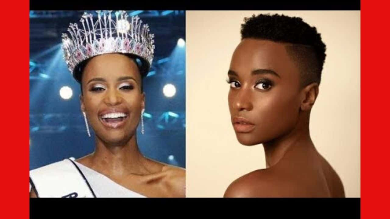 Miss South Africa was crowned Miss Universe
